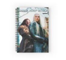 Thorin&Thranduil Spiral Notebook