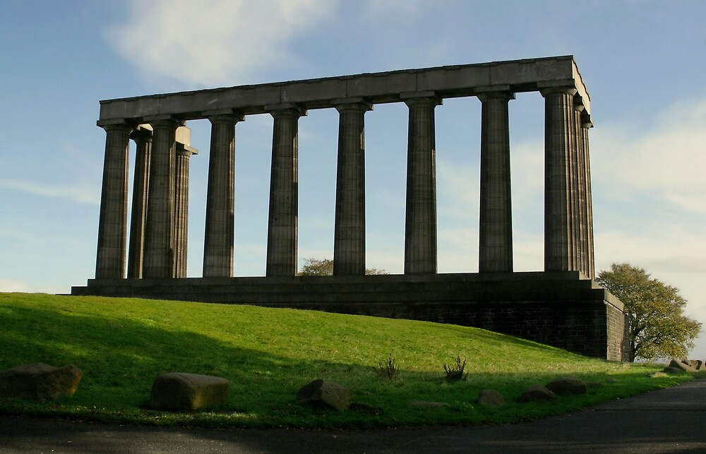 Edinburgh National Monument by Michael Neal