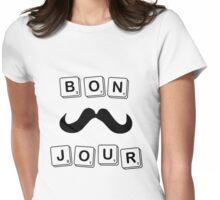 BONJOUR Scrabble Womens Fitted T-Shirt