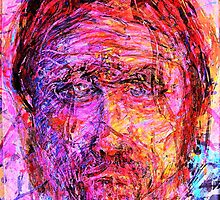Self Portrait x 1 by Richard  Tuvey