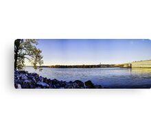 Tennessee River Dam Canvas Print