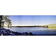 Tennessee River Dam Photographic Print