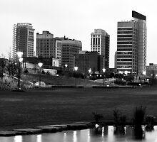 Birmingham Skyline at 6 AM by freshcolor