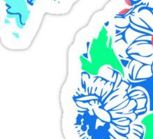 Lilly States - Michigan Sticker