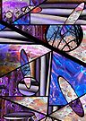 Stain Glass Image Collage by Kayleigh Walmsley