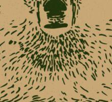 Kodiak Bear Sticker