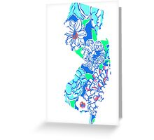 Lilly States - New Jersey Greeting Card