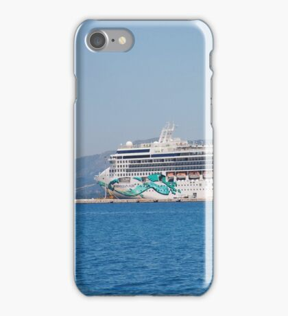 Norwegian Jade liner, Corfu iPhone Case/Skin