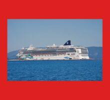 Norwegian Jade liner, Corfu One Piece - Short Sleeve