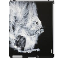 AND THE WORLD GOES ON  #squirrel iPad Case/Skin