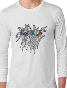 Bicycle Celebration Long Sleeve T-Shirt