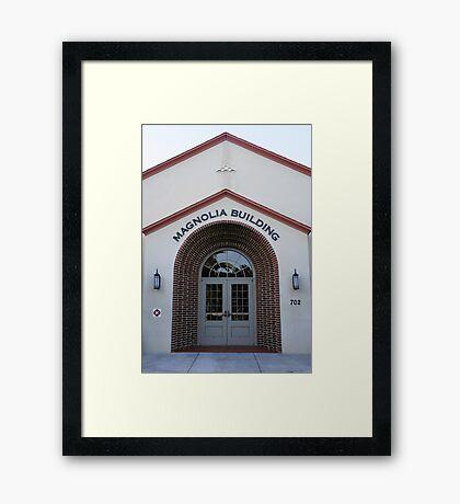 The Magnolia Building Framed Print