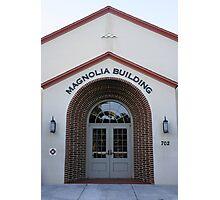 The Magnolia Building Photographic Print