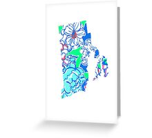 Lilly States - Rhode Island Greeting Card