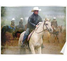 Rainy Day Cowboys II   Poster