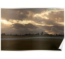 Sunrise in the Valley Poster