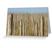 Winery Poles Greeting Card