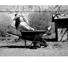 black&white Photographic Print