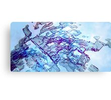 Homelands - Abstract CG Canvas Print
