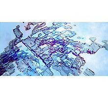 Homelands - Abstract CG Photographic Print