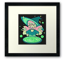 witch's spell Framed Print