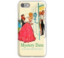 Gay Mystery Date iPhone Case/Skin