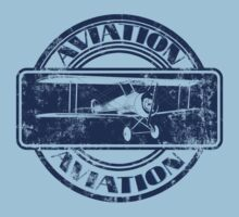 Vintage Aviation Badge by Packrat