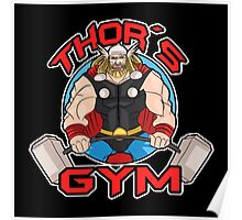 Thor's Gym Poster