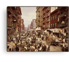 New York in 1890 Canvas Print