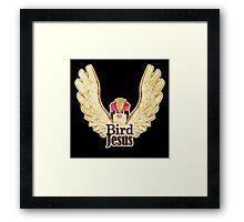 BIRD JESUS Framed Print