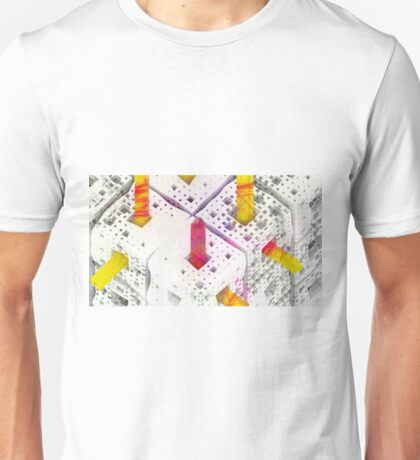 Matthew 6:28 - Abstract CG Unisex T-Shirt