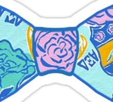 Alpha Xi Delta Bow Tie Sticker