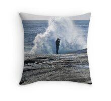 Tasmania, East Coast Waterscape Throw Pillow