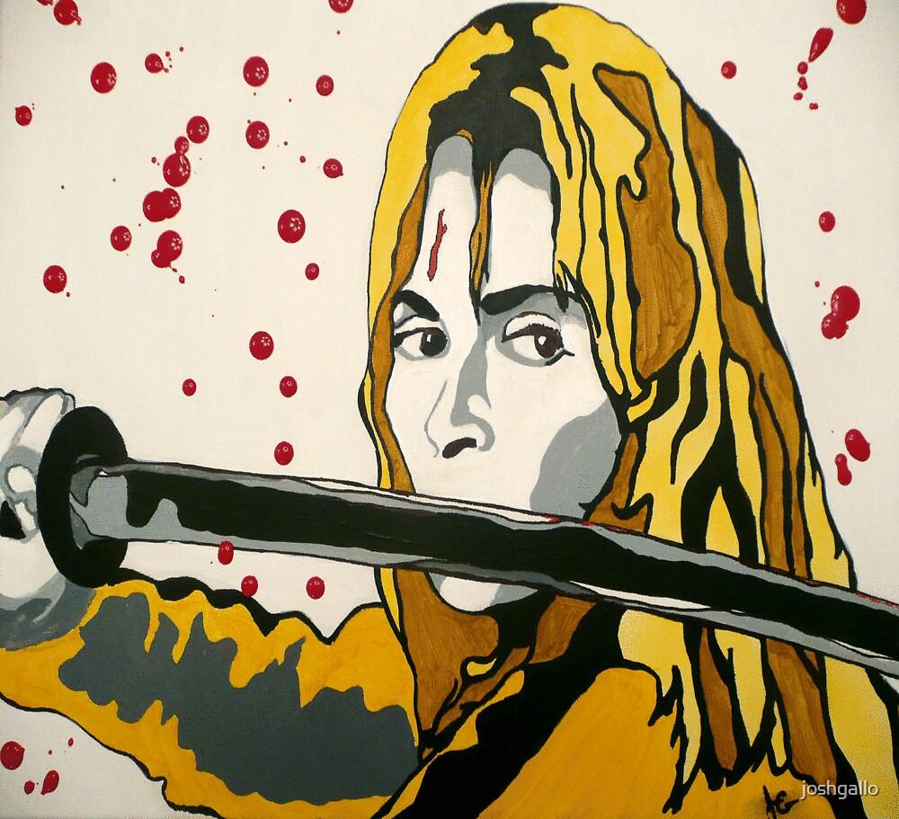 Beatrix Kiddo by joshgallo