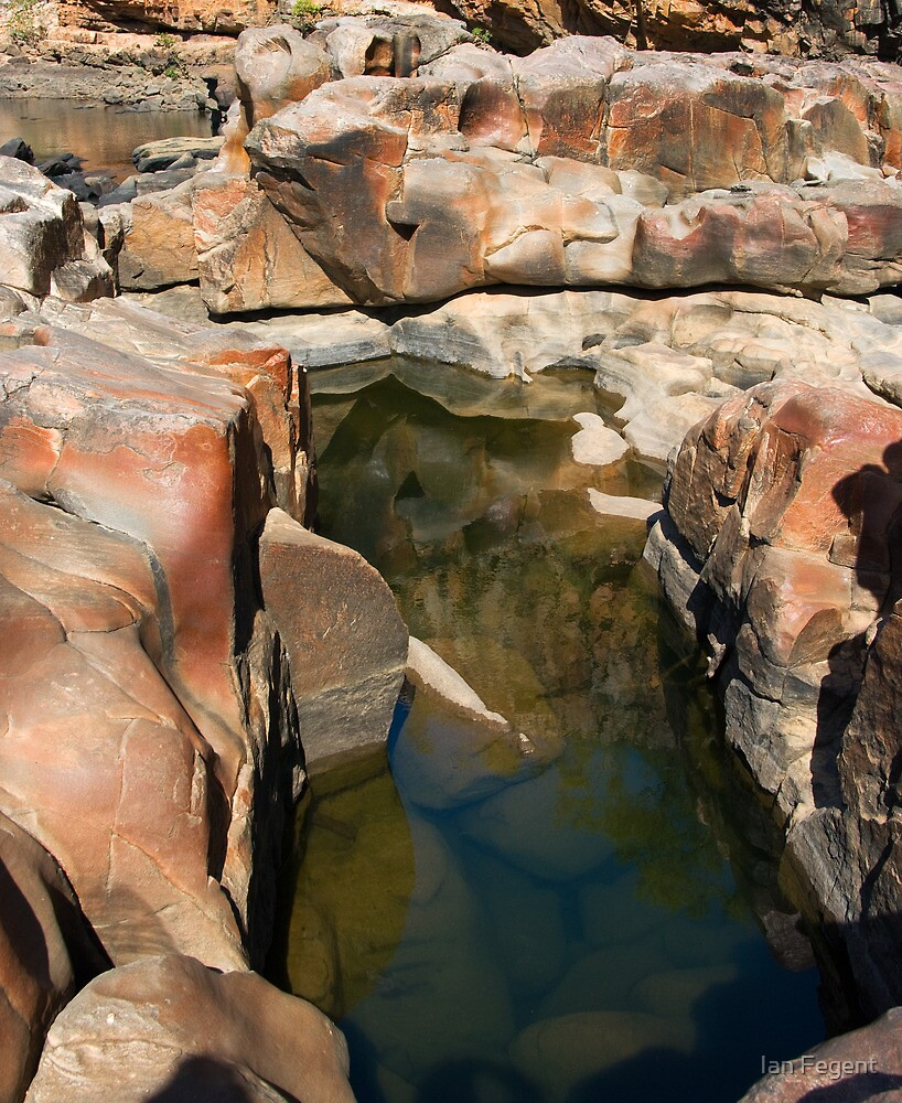 Katherine Gorges 7 - 3rd gorge by Ian Fegent
