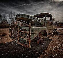Ol' Rusty by Marzena Grabczynska Lorenc