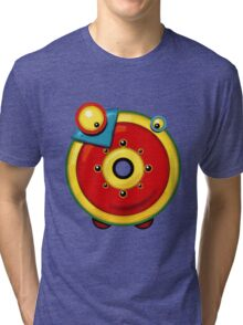 """Introducing the letter """"Omikron"""" Tri-blend T-Shirt"""