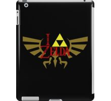 I <3 Zelda - Black iPad Case/Skin