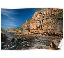 Katherine Gorges 8 - the 4th gorge Poster