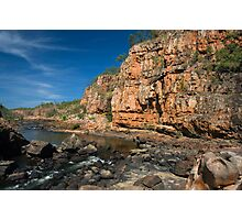 Katherine Gorges 8 - the 4th gorge Photographic Print