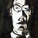 A Father, 1997, Ink on Paper, Justin Curfman by Tephramedia