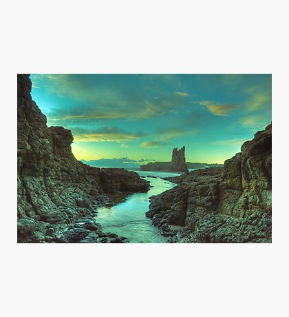 Cathedral Rocks at Dawn Photographic Print