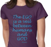 The EGOS veil... Rumi Womens Fitted T-Shirt