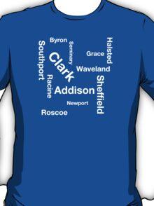 Wrigleyville Streets T-Shirt