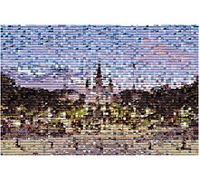 St Louis Cathedral Mosaic Photographic Print