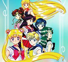 Sailor Moon S Team by neocrystaltokyo