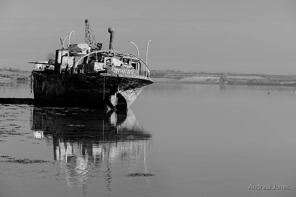 May I rust in peace? The Portlairge, Saltmills, County Wexford, Ireland by Andrew Jones