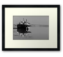 May I rust in peace? The Portlairge, Saltmills, County Wexford, Ireland Framed Print