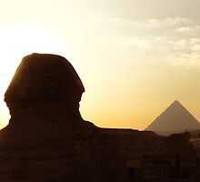 Sphinx - Cairo, Egypt by Marilyn Harris