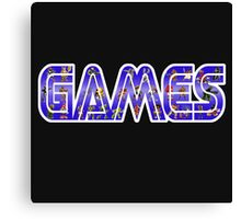 games Canvas Print